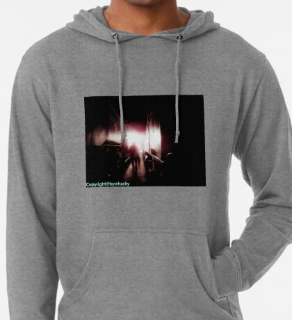 Train shed Ghost Lightweight Hoodie