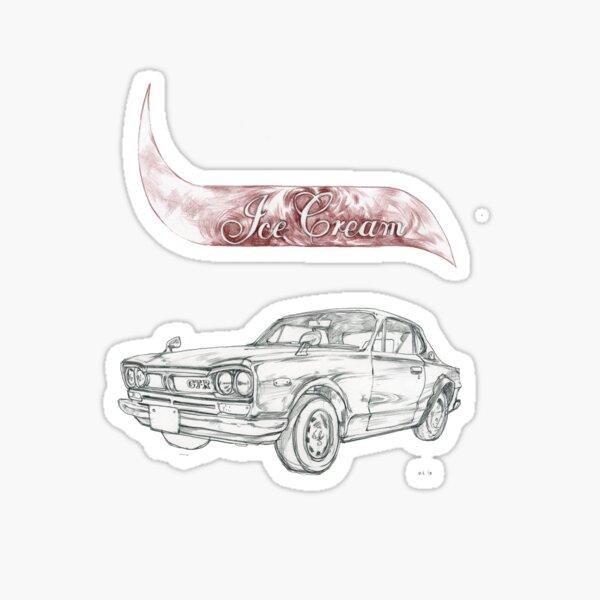Hakasuka Ice-Cream! Sticker