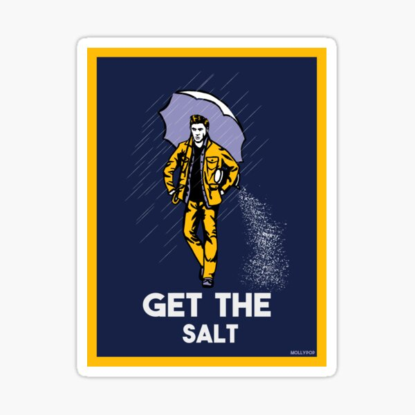 get the salt sticker and prints Sticker