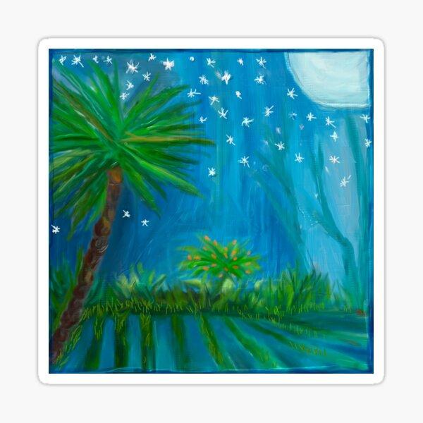 Tropical Fields 1 Sticker