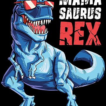 Mamasaurus T shirt T rex Mama Saurus Dinosaurio Mujer Mamá Regalo de LiqueGifts