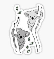 koala? i've never seen her-bi-vore!  Sticker