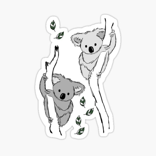koala? Je ne l'ai jamais vue-bi-vore! Sticker