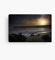 One Less Day Canvas Print