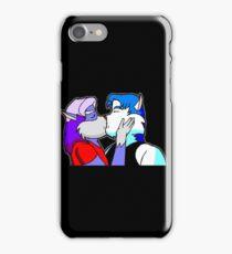 Furries Kiss iPhone Case/Skin