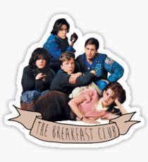 das Frühstück Club Banner Sticker