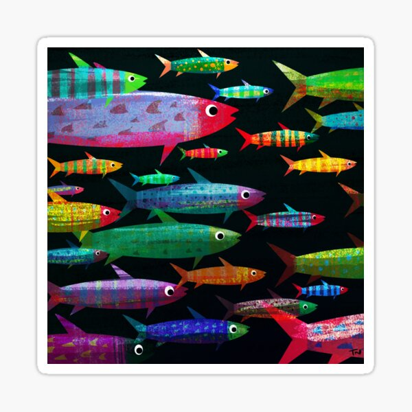 Fishes Sticker