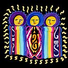 Three Sisters - Peruvian Blanket Baby Dolls by tinaschofield