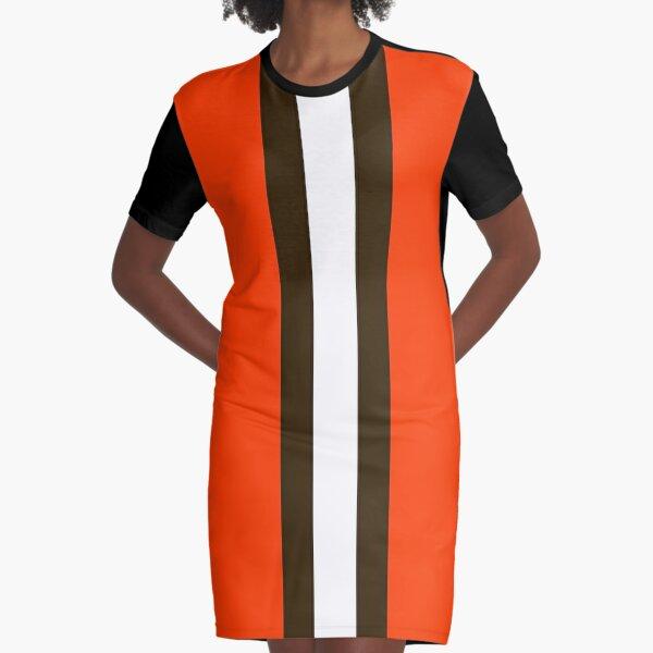 Cleveland Football  Graphic T-Shirt Dress
