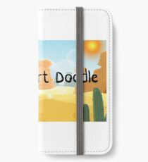 Daily Desert Doodle - The Blog and the Podcast iPhone Wallet/Case/Skin