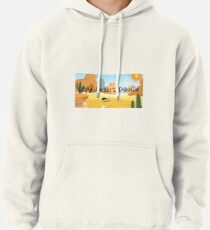 Daily Desert Doodle - The Blog and the Podcast Pullover Hoodie