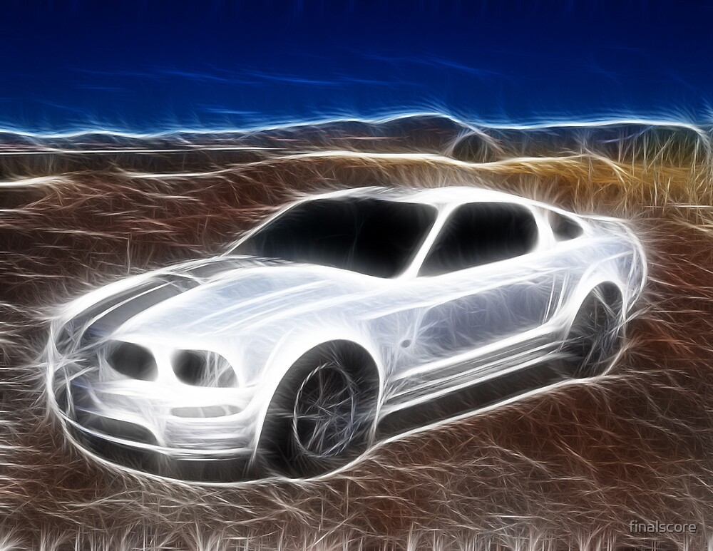Mystical Ford Mustang car by finalscore