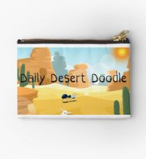 Daily Desert Doodle - The Blog (large) Studio Pouch
