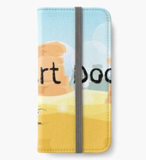Daily Desert Doodle - The Blog (large) iPhone Wallet/Case/Skin