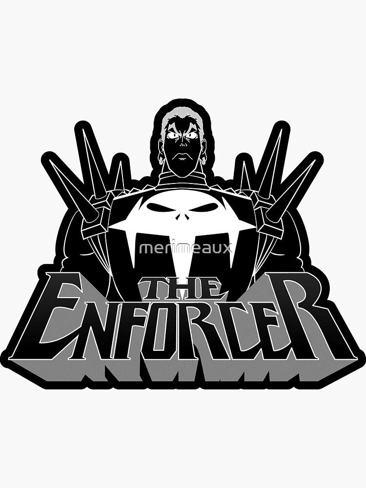Sticker! The Enforcer by merimeaux
