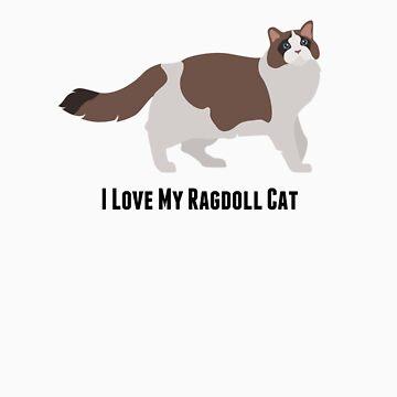 I Love My Ragdoll Cat by rodie9cooper6