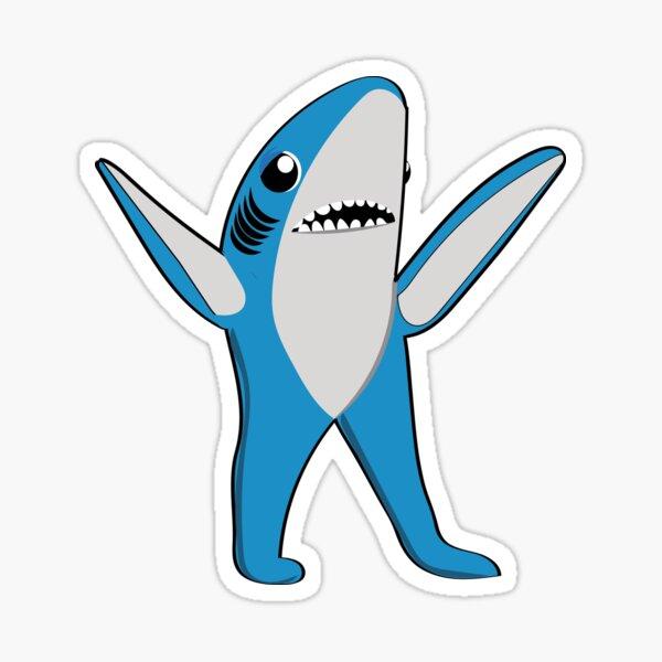 Tiburón izquierdo Pegatina