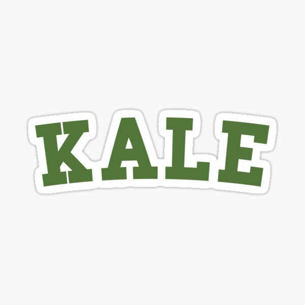 Kale Super Greens Veggies Sticker