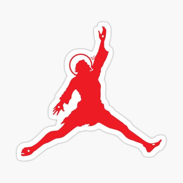 Air Jesus Solo by Tai's Tees Sticker