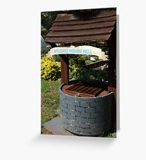 Wellgate Wishing Well Greeting Card