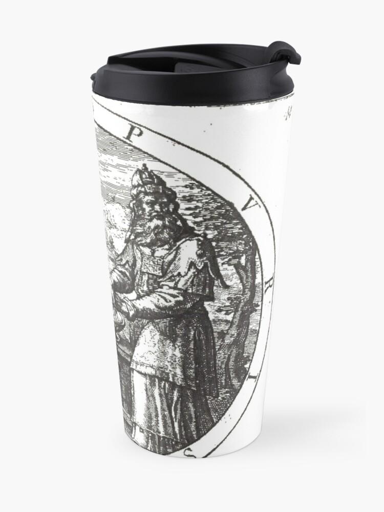 Alternate view of De la Theurgie Ou la Pratique Hermetique, Traite d Alchimie Spirituelle Travel Mug