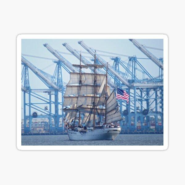 USCG Tall Ship Eagle Sticker
