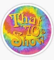 Pegatina ese programa de los 70