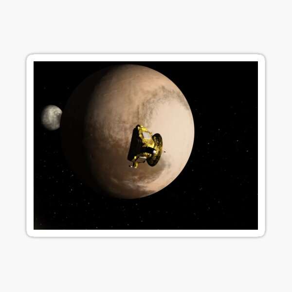 Nearest Pluto Sticker