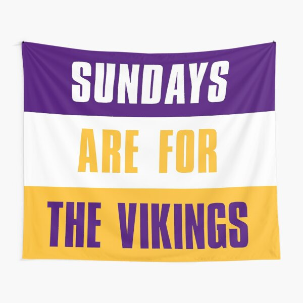 Sundays are for The Vikings, University of Minnesota Tapestry