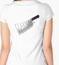 MangiaTV Logo Women's Fitted Scoop T-Shirt