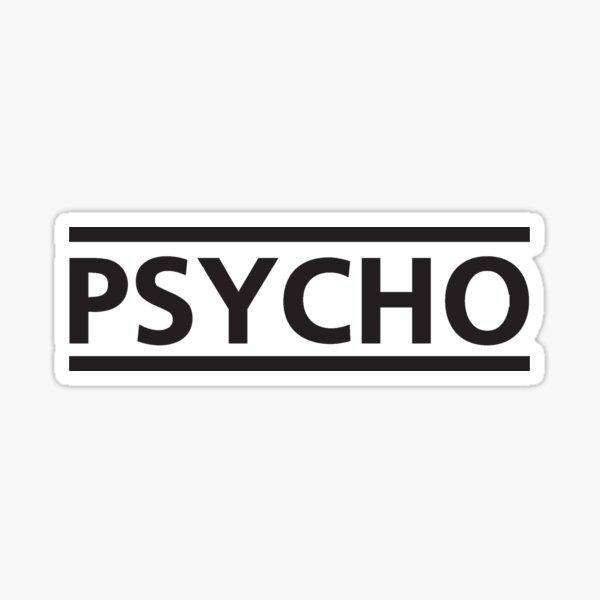 muse psycho t-shirt Sticker