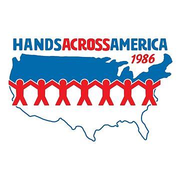 Hands Across America 1986 - Us by huckblade