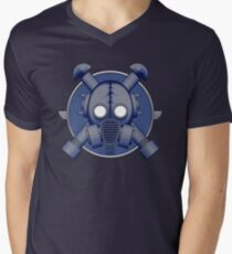 Art Deco Midnight Gasmask T-Shirt
