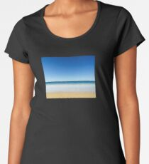 Coast Horizon (8015) Women's Premium T-Shirt