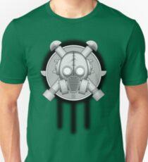 Art Deco Gasmask Trinity Unisex T-Shirt