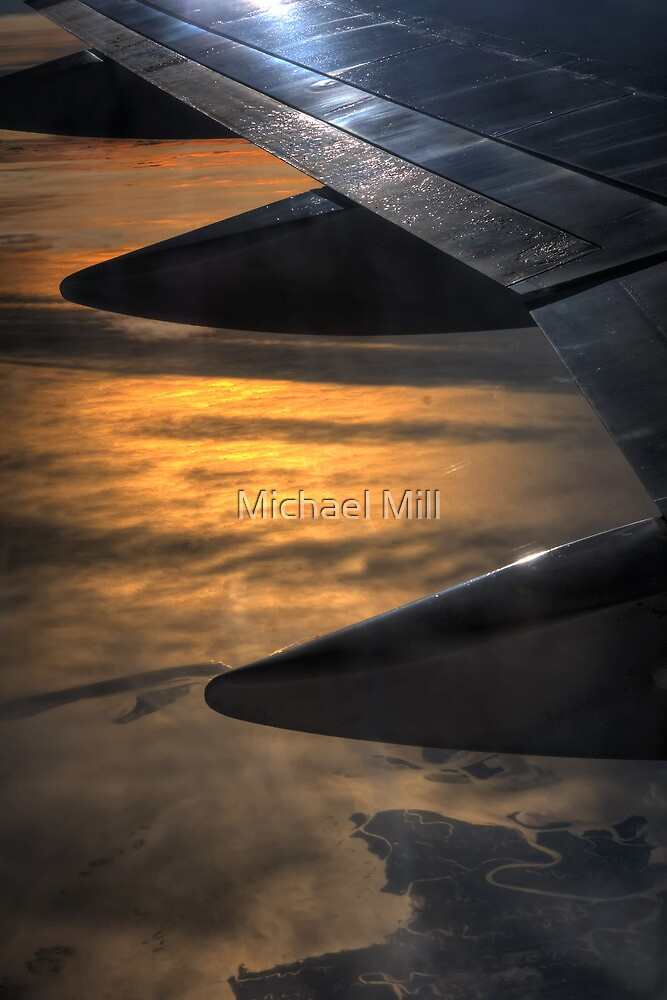 View from the Plane by Michael Mill