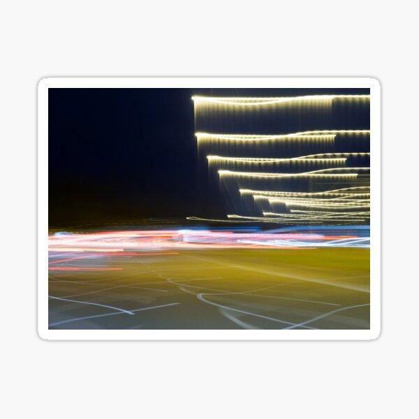 Freeway blur Sticker