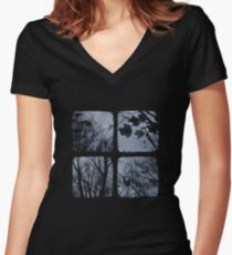 Winter of Discontent - TTV Women's Fitted V-Neck T-Shirt