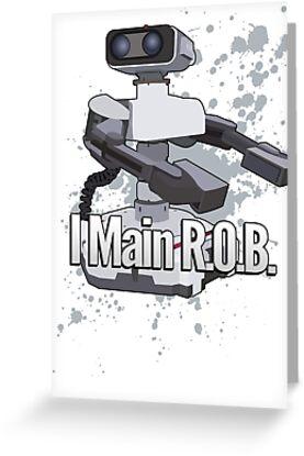 I Main R.O.B. - Super Smash Bros. by PrincessCatanna