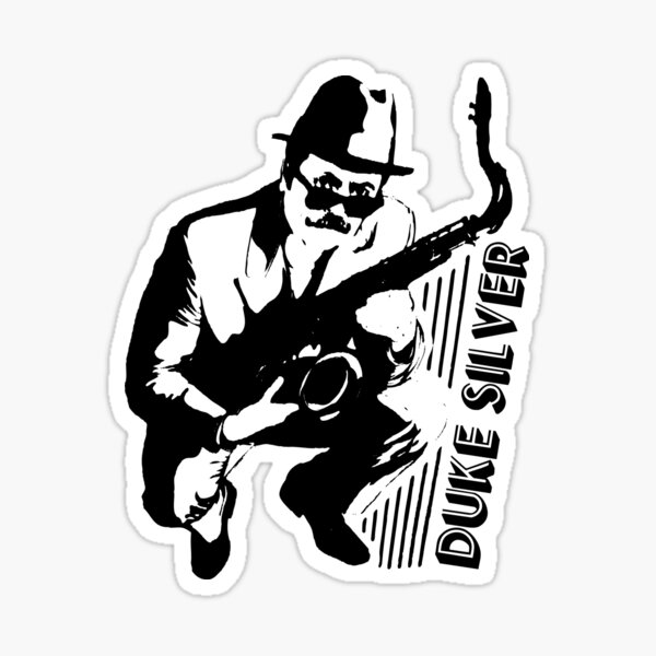 Duke Silver - Parks And Recreation - Ron Swanson Sticker