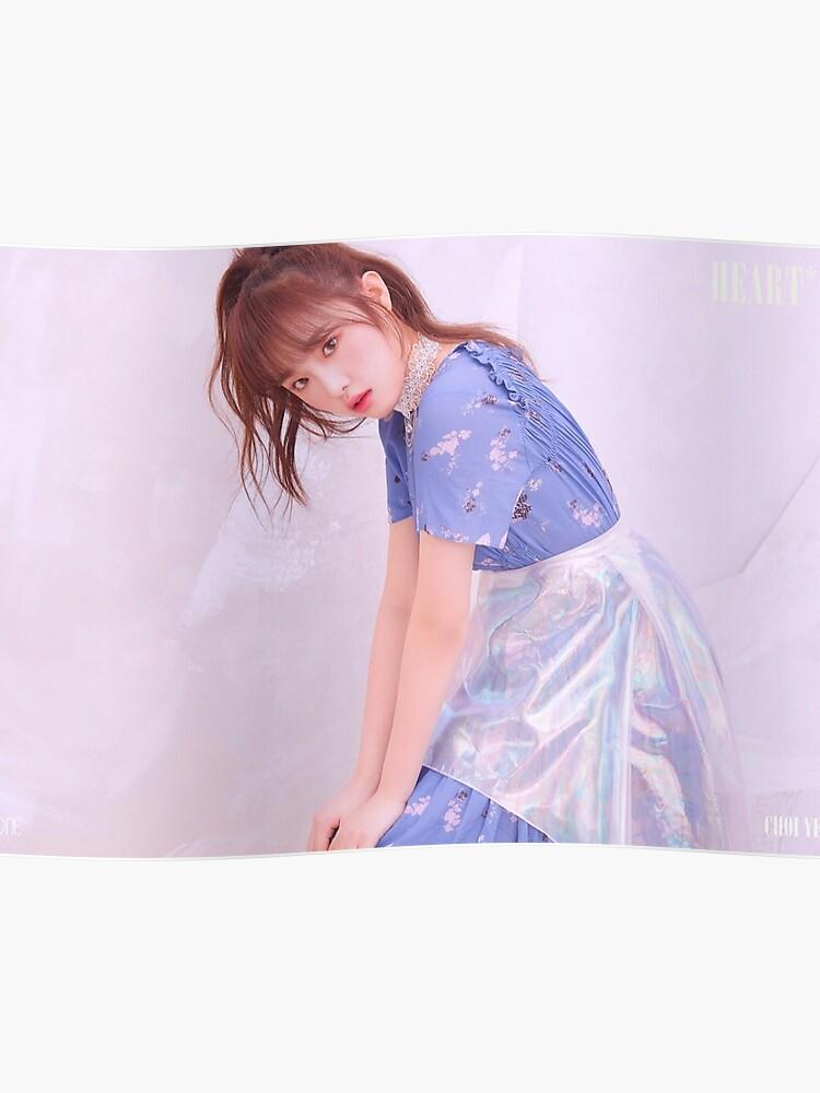 IZ*ONE HEART*IZ (2nd Mini Album) Violeta Version | Choi Yena (최예나) | Poster