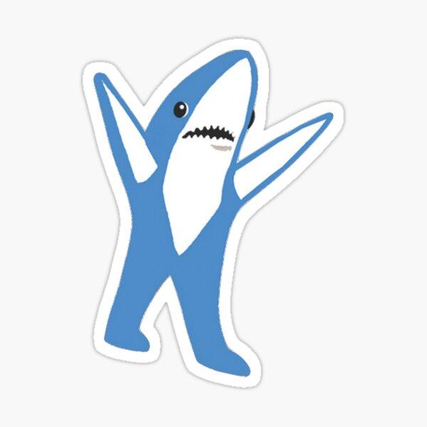 Left Super Bowl Shark Sticker