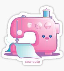 Sew Cute Kawaii Sewing Machine Sticker