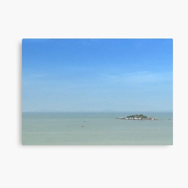 An Island (1) Canvas Print