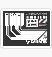 CINAPS - Aufkleber Sticker
