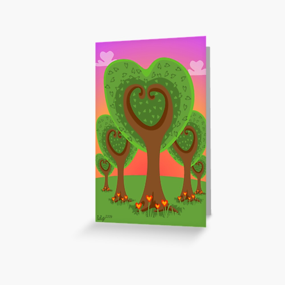 Forest in my Heart Greeting Card