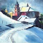 Church Road by Anil Nene