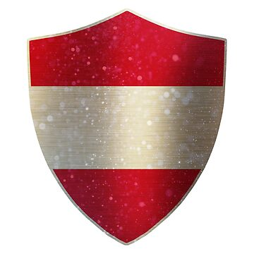 Austria Flag Shield by ockshirts