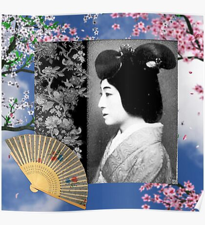 OLD WORLD GEISHA Poster