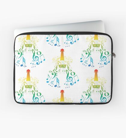 Violine mit Notes2 Laptoptasche